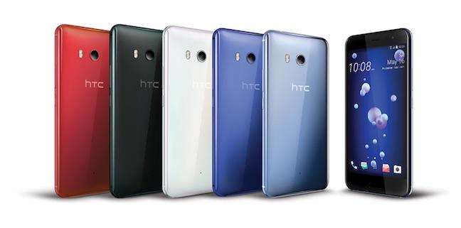 HTC's 2017 flagship U11 woos audiophiles and bundles Alexa • The