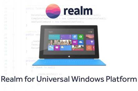 Realm for Universal Windows Platform