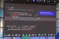 JavaScript/Node code for Google Assistant
