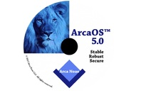 Arca OS 5.0, aka Blue Lion