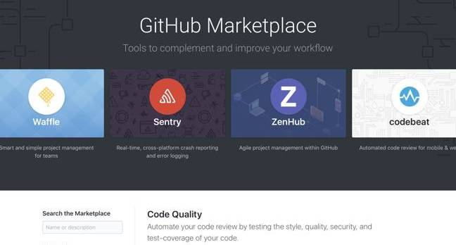 Techmeme: GitHub launches GitHub Marketplace, a store for