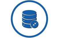 Shrinking data icon