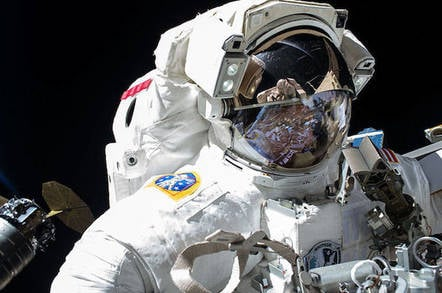 NASA's Peggy Whitson on a previous spacewalk