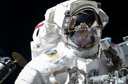 NASA's Peggy Whitson on a previous spacewalk