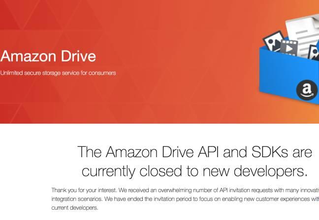 Amazon Drive bans rclone storage client • The Register