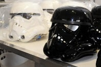 Ainsworth stormtrooper helmets photo by Gavin Carke
