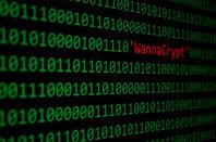 WannaCrypt photo via Shutterstock