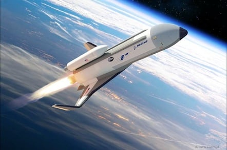 Artist's concept of the XS-1 spaceplane