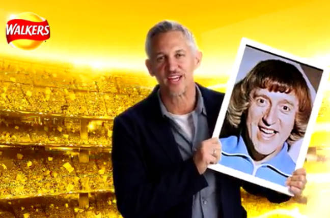 Gary Lineker and a mystery guest