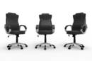 Three CEO chairs