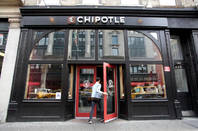 A Chipotle store