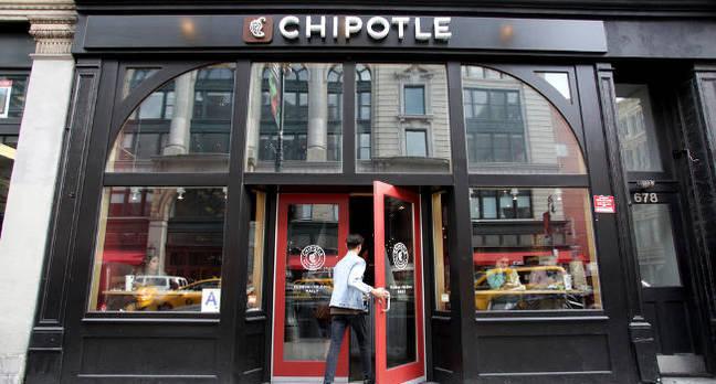 A Chipotle store