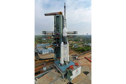 Ready to go: India's GSLV Mk III