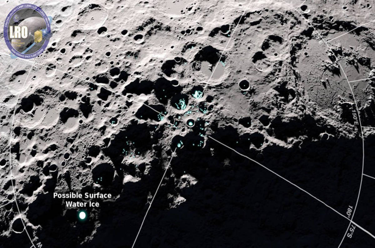 Spacecraft spots possible signs of frozen water on the moon the spacecraft spots possible signs of frozen water on the moon the register fandeluxe Epub