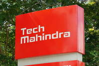 Tech Mahindra sign