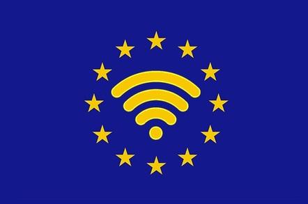 The Reg's WiFi4EU logo