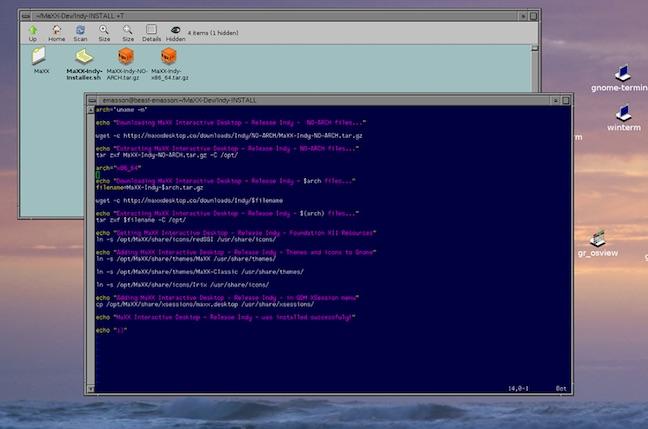 Silicon Graphics' IRIX and Magic Desktop return as Linux desktop