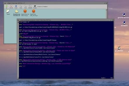 Maxx Desktop SGI Indigo Magic Desktop clone for Linux