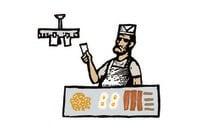 cartoon of short order cook. illo by shutterstock