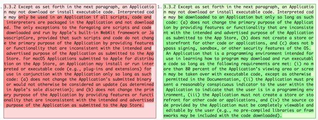 Apple dev agreement changes