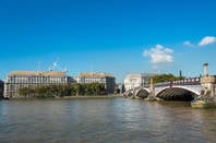 MI5 headquarters as seen from the Thames. Pic by shutterstock - editorial use only