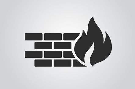 Firewall icon