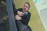 Ryan Reynolds dangles off a helicopter for BT