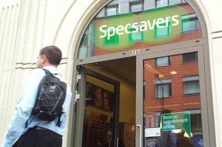 Specsavers, photo by Gavin Clarke