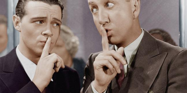 Keeping a secret photo via Shutterstock