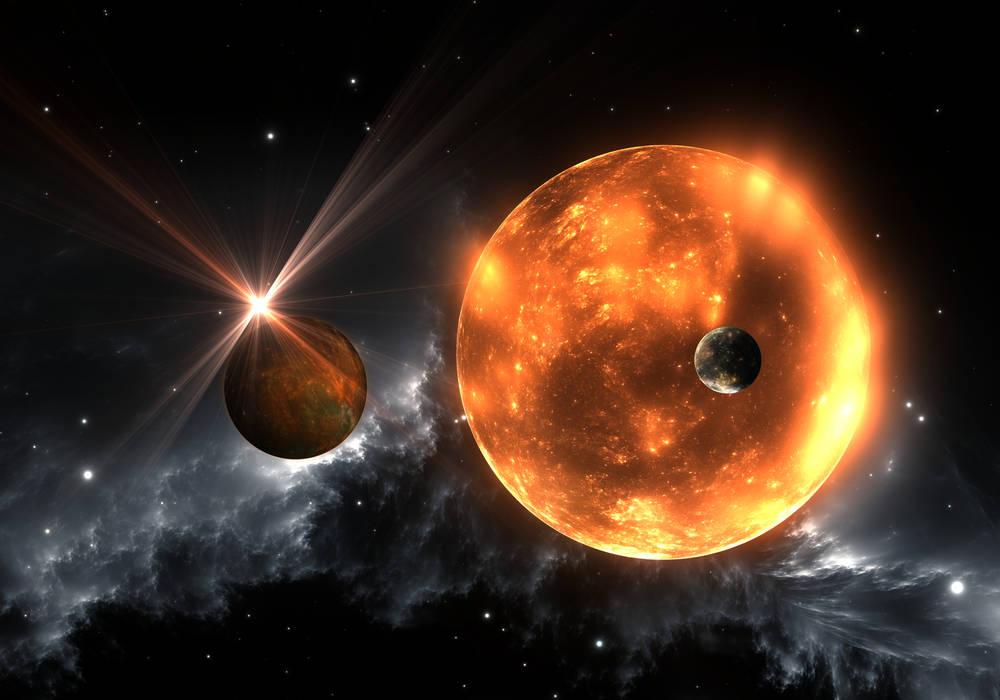 Bir Görünüp Bir Kaybolan Gezegen…