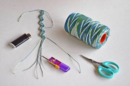 Macrame art kit