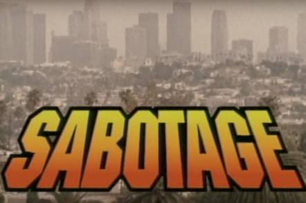 'Sabotage' title