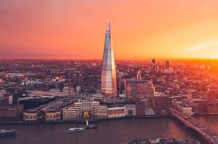 The Shard skyscraper in central London. Pic: Shutterstock