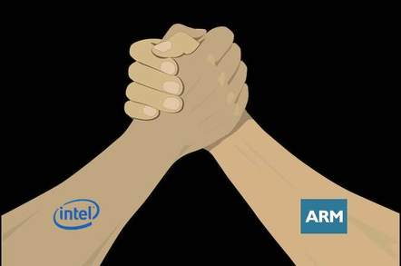 Arm wrestle - Intel vs. ARM