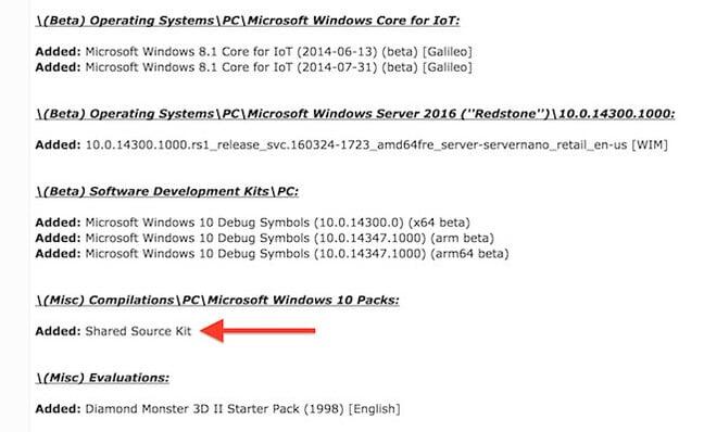 Heaps of Windows 10 internal builds, private source code leak online