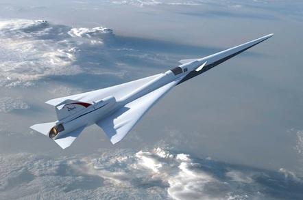 NASA's Low Boom Flight Demonstration aircraft