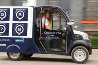 Ocado Oxbotica driving blurred 2 photo by Gavin Clarke