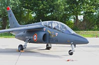 A Dassault-Dornier Alpha Jet of the French Air Force. Pic: Shutterstock