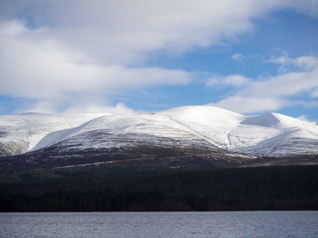 Cairngorm Mountain Railway and Mountain, photo courtesy Natural Retreats