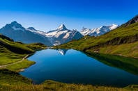 swiss mountainside