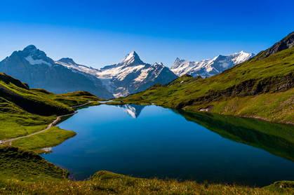 swiss mountainside