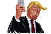 Donald trump tweeting