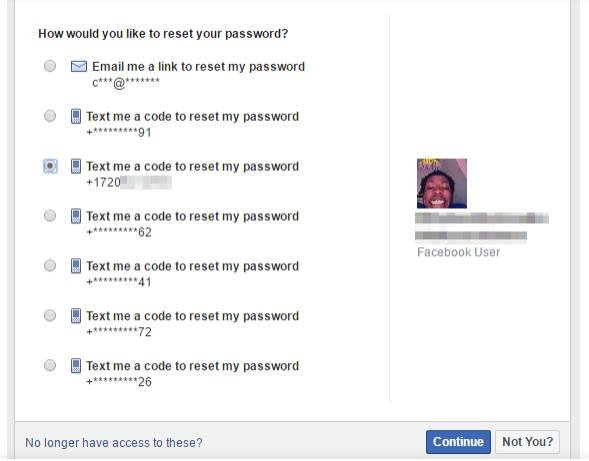 Facebook users pwnd by phone with account recovery vulnerability