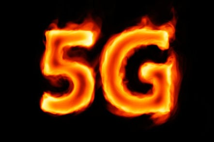 5g is not just a radio welcome to the fibre tastic new mobile burning 5g against dark background malvernweather Image collections