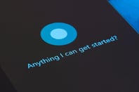 Cortana photo via Shutterstock