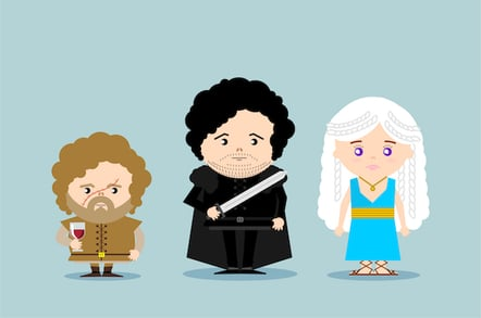 Game of Thrones  cartoon