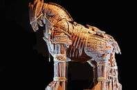 Trojan horse photo via Shutterstock