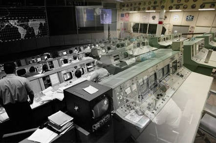 NASA Houston mission control