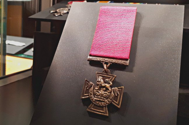 The Victoria Cross won by Serjeant Alfred Knight of the Post Office Rifles