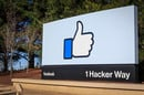 Facebook Menlo Park HQ Editorial use only
